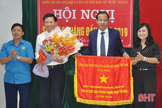 Lấy công tác thi đua làm động lực phát triển doanh nghiệp Hà Tĩnh