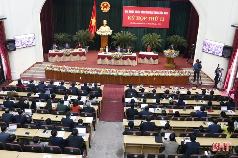 Kỳ họp thứ 12, HĐND tỉnh Hà Tĩnh khóa XVII hoàn thành các Nội dung Chương trình đề ra