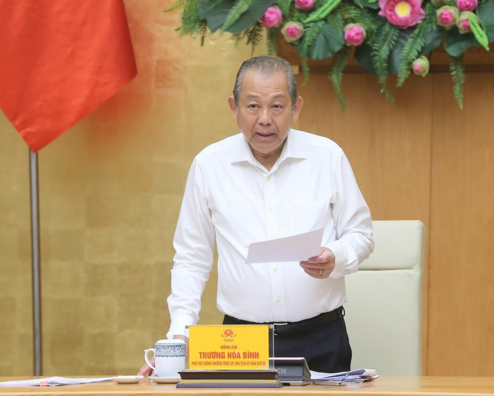 Phó Thủ tướng Thường trực: 3 'điểm nghẽn' trong giải ngân vốn đầu tư công