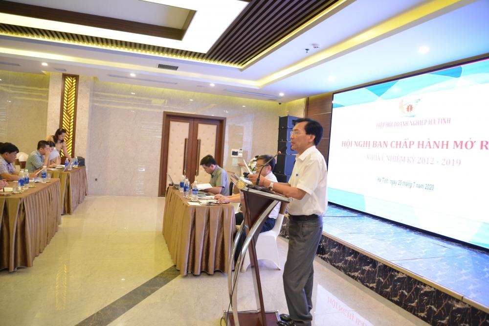 Hiệp hội Doanh nghiệp Hà Tĩnh Hội nghị Ban Chấp hành mở rộng Khóa I nhiệm kỳ 2012 – 2019 lần cuối