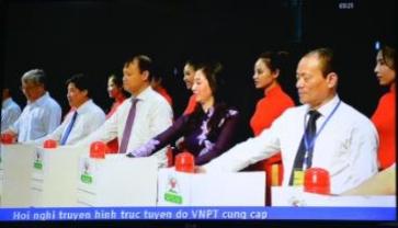 Bắc Giang - Khai trương sàn giao dịch điện tử vải thiều Bắc Giang