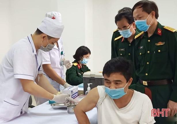 Hà Tĩnh được phân bổ 7.300 liều vắc xin phòng Covid-19 trong đợt 2 này