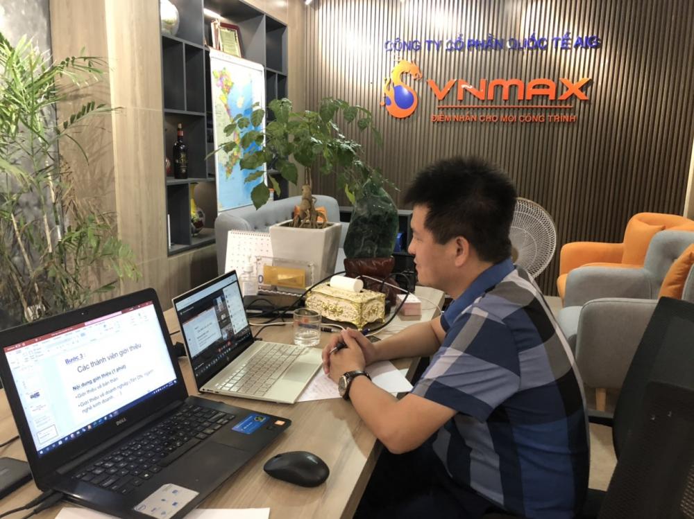 Hội doanh nhân trẻ Hà Tĩnh áp dụng hình thức chuyển đổi số bằng việc triển khai hình thức họp online